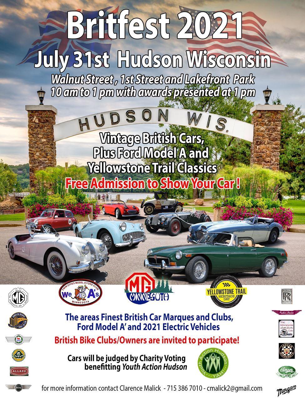 Britfest Hudson Wisconsin 2021