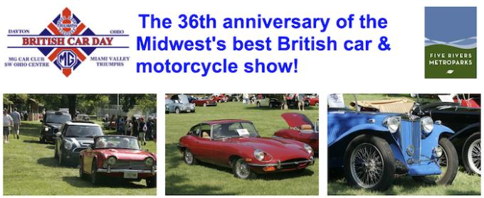 British Car Day 2021 Dayton Ohio
