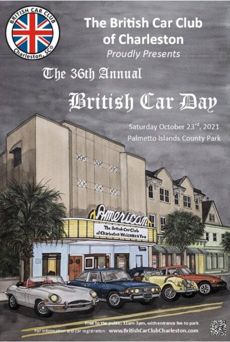 Charleston British Car Day 2021