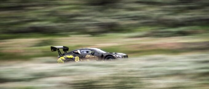 Continental GT3 Pikes Peak Livery - the car in motion