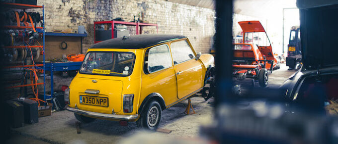 London Electric Cars electric-powered classic Mini conversion that is light on the wallet and kind to the environment launched in UK - At Vauxhall Headquarters