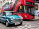 Electric-powered classic Mini conversion that is light on the wallet and kind to the environment launched in UK with London Bus - 3