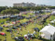 Hagerty acquires Amelia Island Concours d'Elegance - shot of 2021 show field