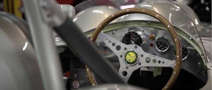 Historic Motorsport TV Releases New Film - Interior shot