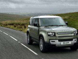 Land Rover Defender On Road -JLR Developing Hydrogen FCEV for Defender