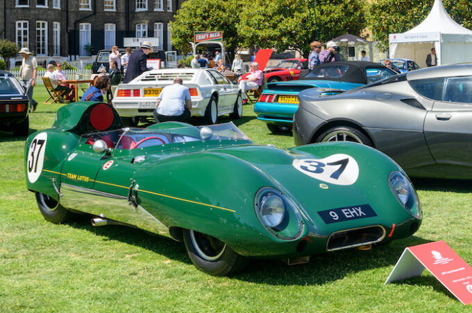 London Concours - Best In Show and Great Marques – Lotus, sponsored by Lotus – Lotus Eleven LM50