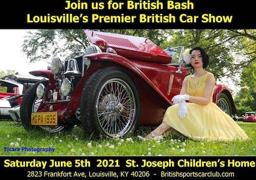 Louisville British Sports Car Club's British Bash 2021