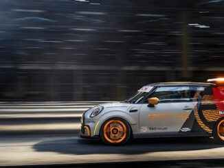 Mini Electric Pacesetter makes UK debut at Goodwood Festival of Speed 2021