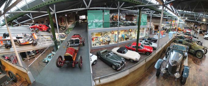 National Motor Museum panorama view