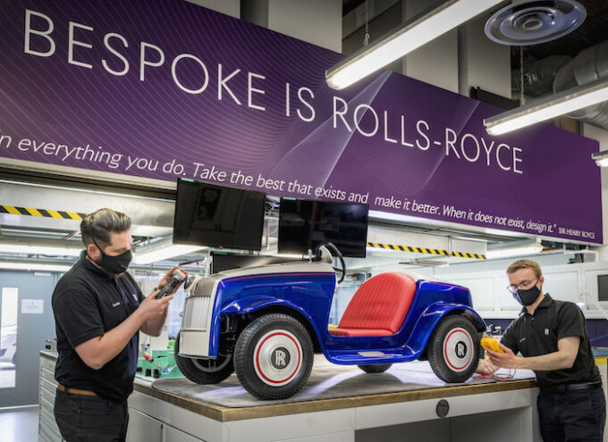 Unique Rolls-Royce SRH Receives Special Treatment at Rolls-Royce Home at Goodwood