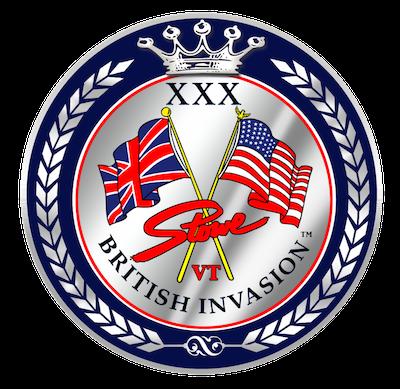 XXX Stowe British Invasion Anniversary Logo in Full Color