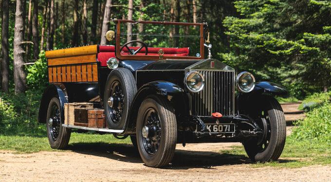 1927 Rolls-Royce Phantom1 Open Tourer from Silverstone Auctions