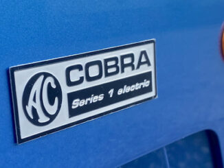 AC Cobra Series 1 electric 3 - Badge and Vent details