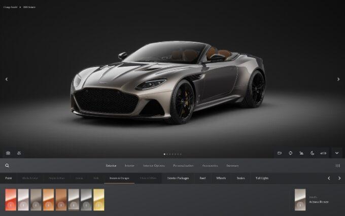 Aston Martin Configurator - Front 3/4 shot