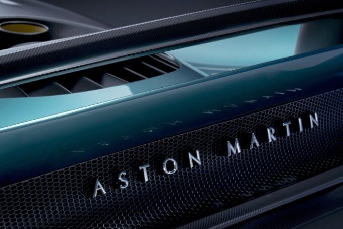 Aston Martin Valhalla Hybrid Supercar - Rear with Logo