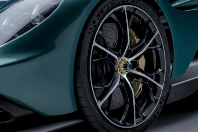 Aston Martin Valhalla Hybrid Supercar - Wheel Detail