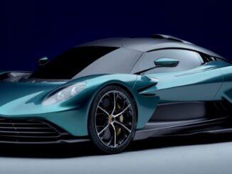 Aston Martin Valhalla Hybrid Supercar - 3/4 front view