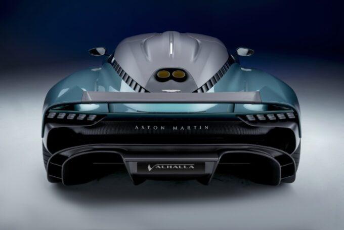 Aston Martin Valhalla Hybrid Supercar - Rear view