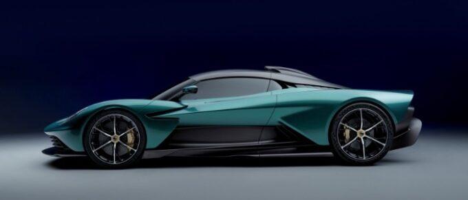 Aston Martin Valhalla Hybrid Supercar - Side View