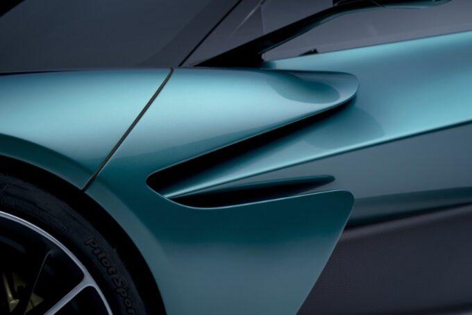 Aston Martin Valhalla Hybrid Supercar - Side detail