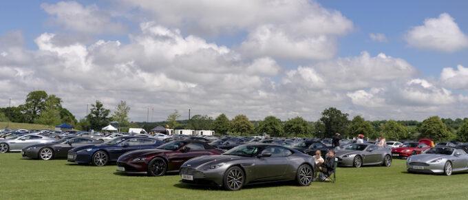Aston Martins galore at the Aston Martin Heritage Festival - Photo Max Earey 053