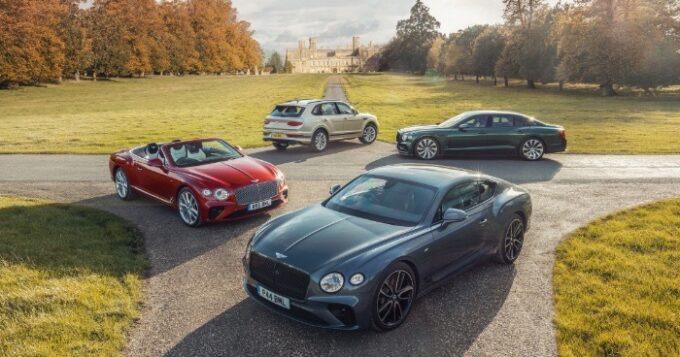 Bentley half-year Sales & Financial Results Set Record - 01