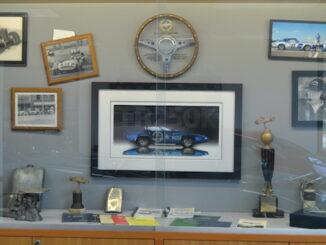 British Sports Car Hall of Fame Display