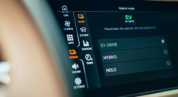 Flying Spur Hybrid - Interior Controls