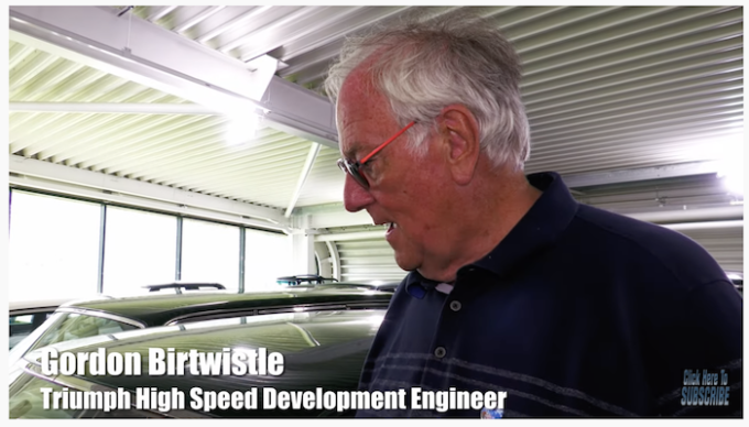 Gordon Birtwistle - Triumph High-Speed Development Engineer at British Leyland / BMC Day, British Motor Museum, Gaydon