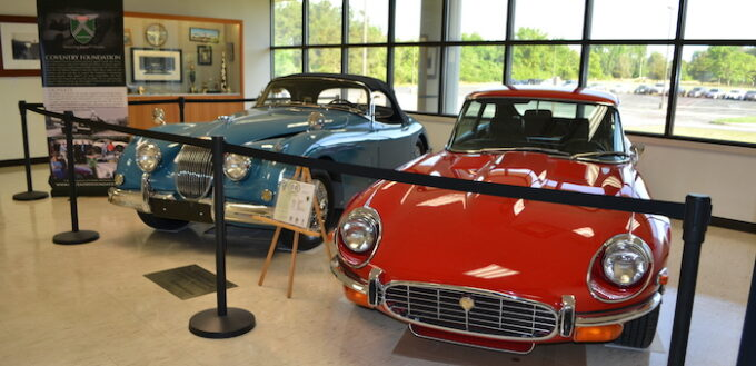 Jaguar Cars donated to the Coventry Foundation