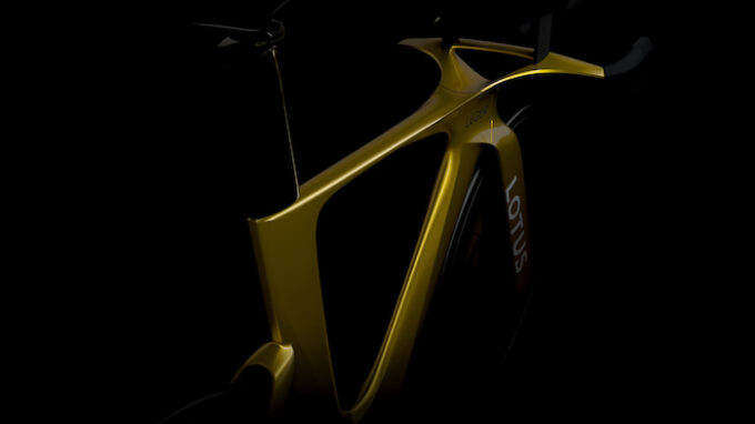 Lotus and Cycling Brand Leger announce collaboration - concept bike development 2
