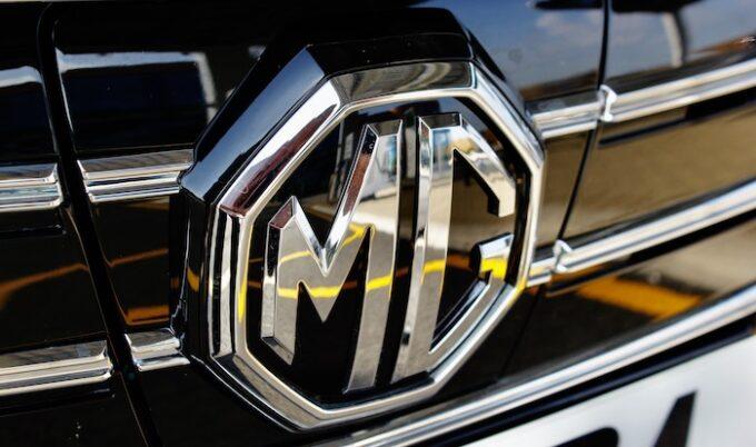 MG5 EV - New Longer Range Model - Bonnet Grill Emblem