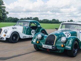 Morgan Plus Four Race Cars Hit the Track - Dynamic 1