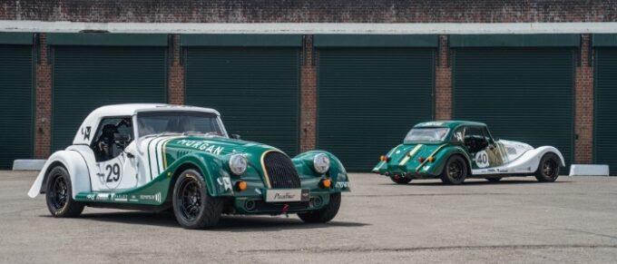 Morgan Plus Four Race Cars Hit the Track - Static 1