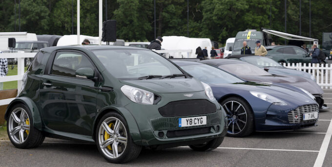 Rarities on show included a V8-engined Cygnet and a One-77 Aston Martin Heritage Festival - Photo Max Earey 104