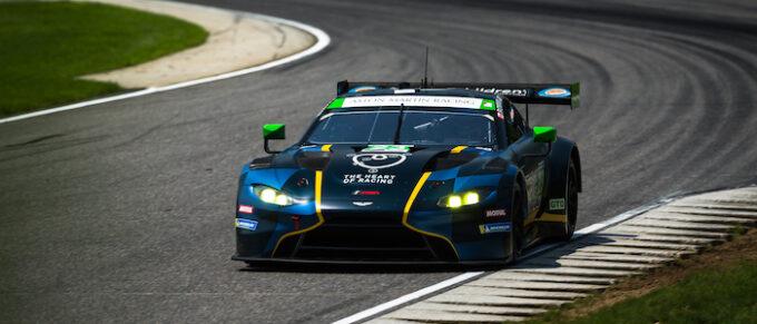 Aston Martin Vantage at IMSA Northeast Grand Prix, Lime Rock Park, Lakeville, CT