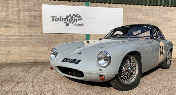 Tolman to Debut Lotus Elite at Silverstone Classic