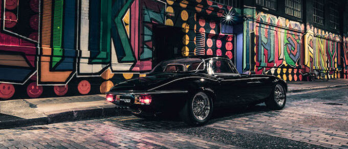 Unleashed by E-Type UK - body shot from read with graffiti
