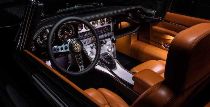 Unleashed by E-Type UK - Interior detail with seats