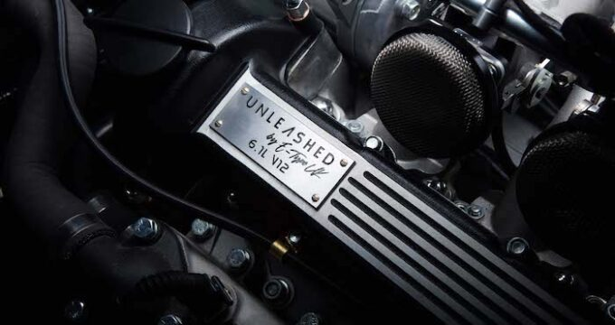 Unleashed by E-Type UK = Engine cover detail