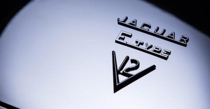 Unleashed by E-Type UK - Jaguar V12 Logo