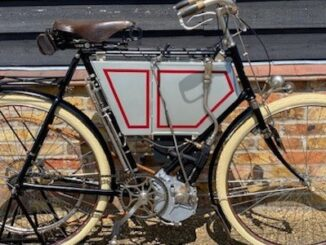 1901 Tiumph Motor Bcycle to be seen at Salon Privé - Header