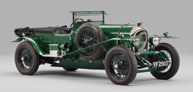 1927 Bentley 3 Liter Vanden Plas Le Mans - Salon Privé From Pioneers to Performance Greats 2021