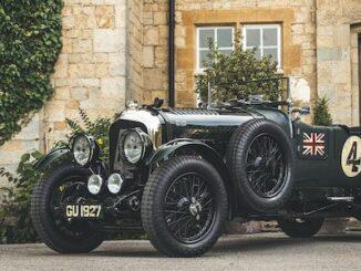 1929 Bentley 4 1/2 liter Ex-Woolf Barnato - Salon Privé From Pioneers to Performance Greats 2021