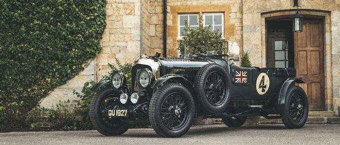1929 Bentley 4 12 liter Ex-Woolf Barnato - Salon Privé From Pioneers to Performance Greats 2021