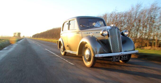 1937 Vauxhal H-Type