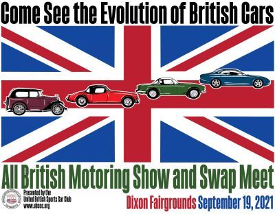 Annual All British Motor Vehicle Show and Swap Meet - CA