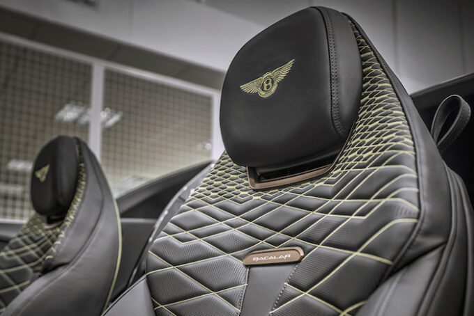 Bacalar seat detail - Bacalar and Blower Continuation Series