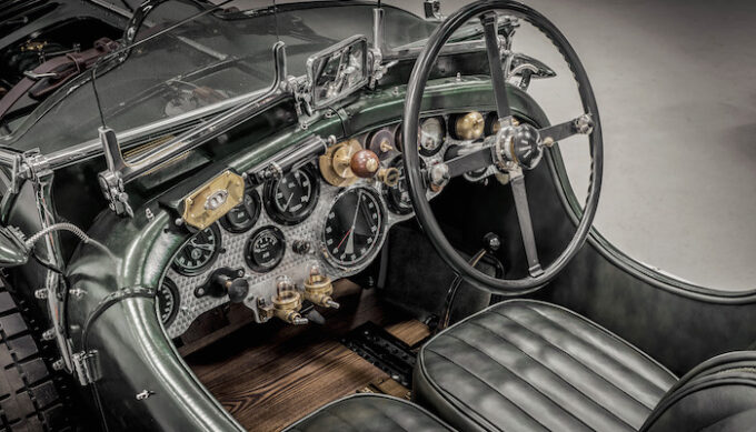 Blower Bentley Dash and Interior - Bacalar and Blower Continuation Series