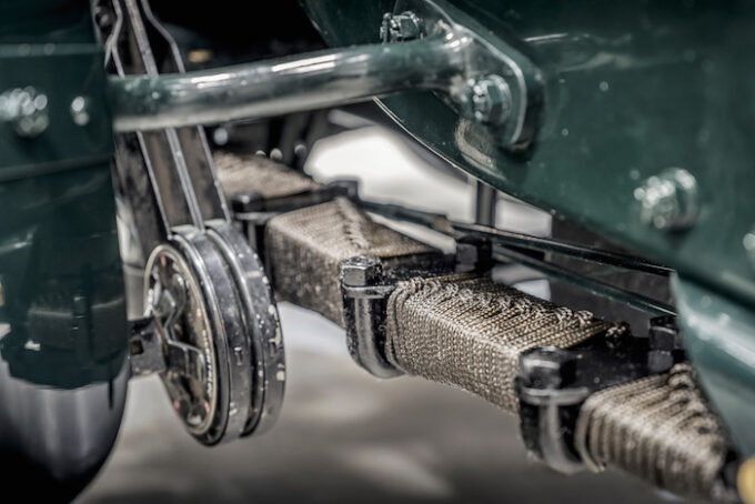 Blower Bentley Gearing Closeup - Bacalar and Blower Continuation Series